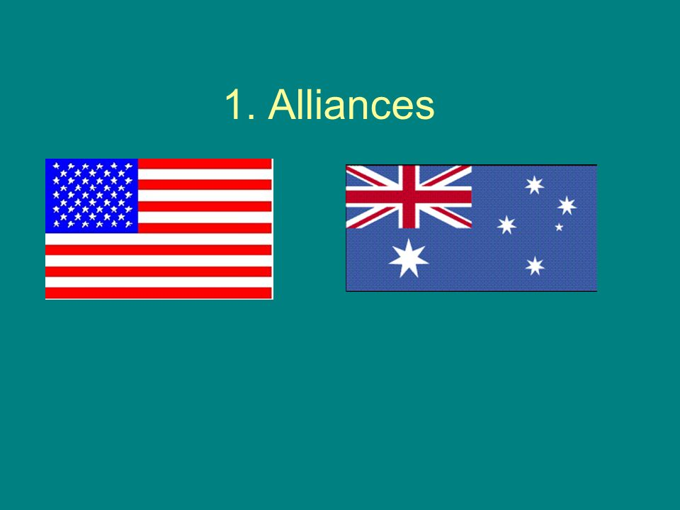 1. Alliances