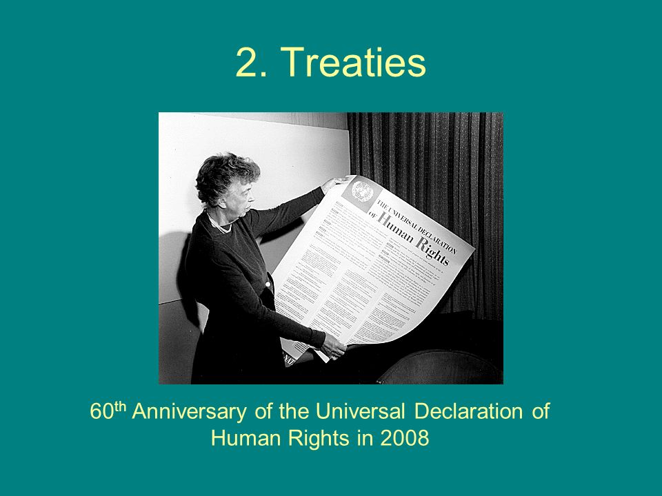 60th Anniversary of the Universal Declaration of Human Rights in 2008