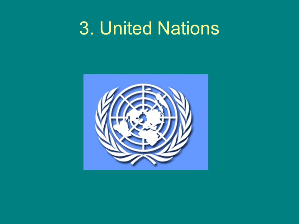 3. United Nations