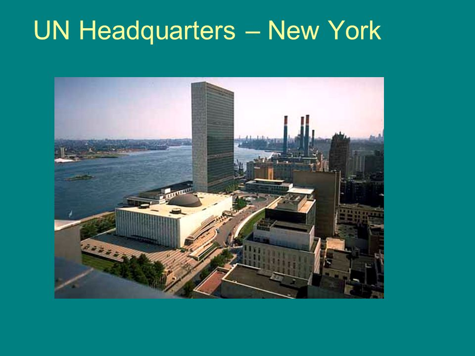 UN Headquarters – New York