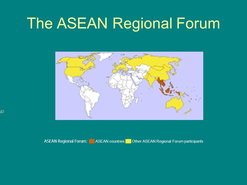 The ASEAN Regional Forum