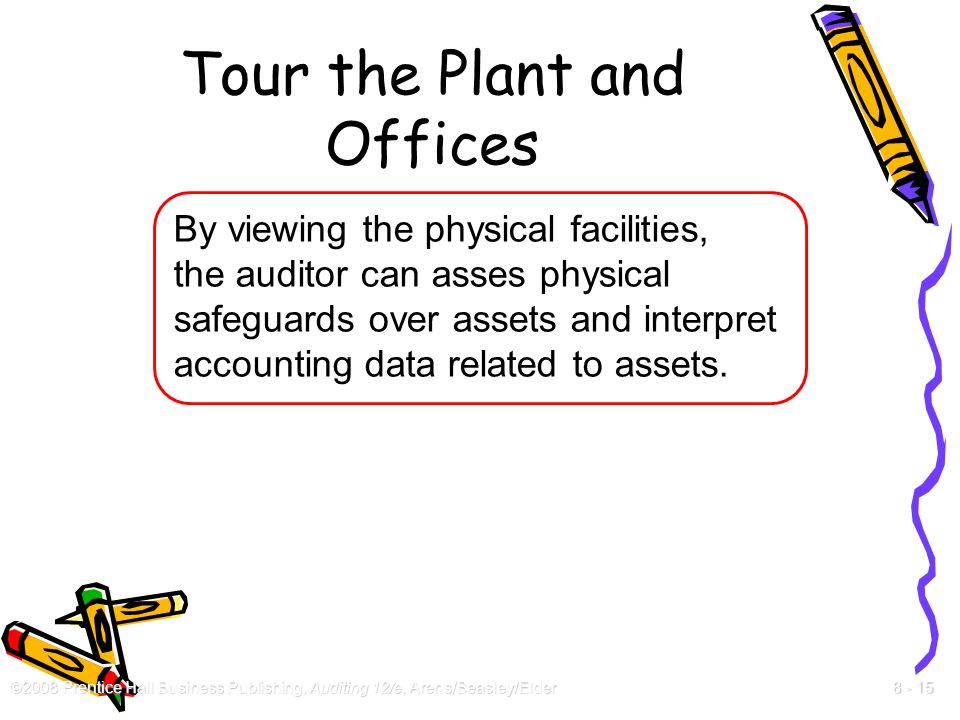 Tour the Plant and Offices