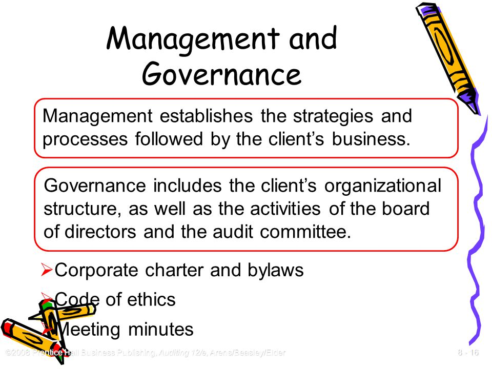 Management and Governance