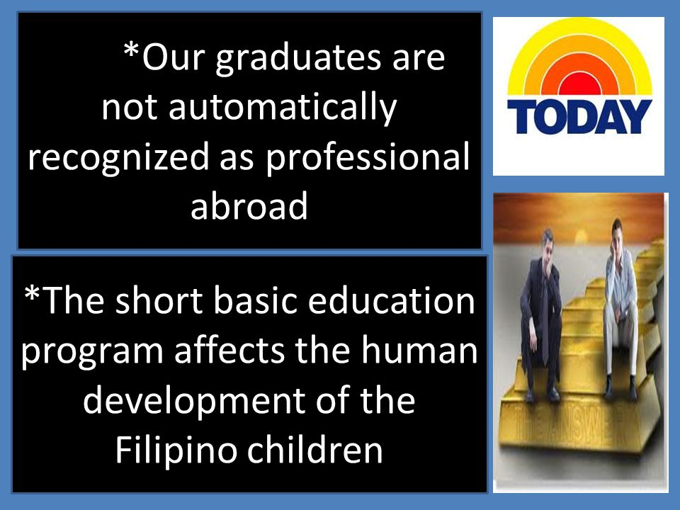 *Our graduates are not automatically recognized as professional abroad