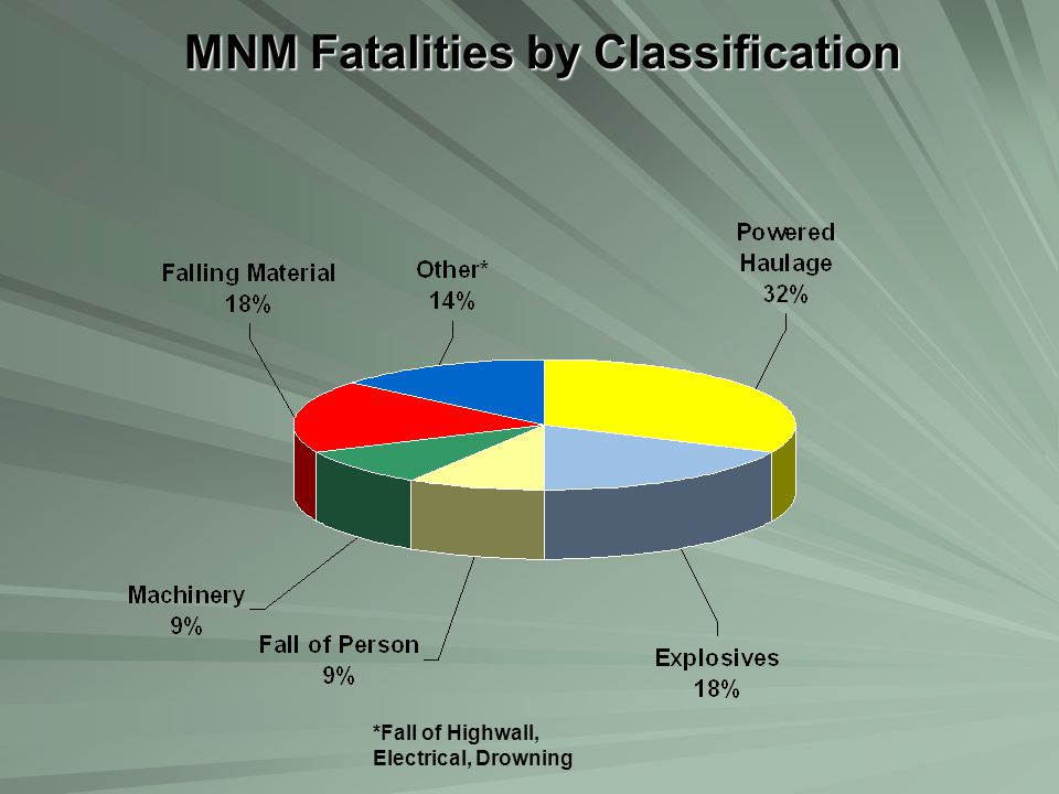 MNM Fatalities by Classification