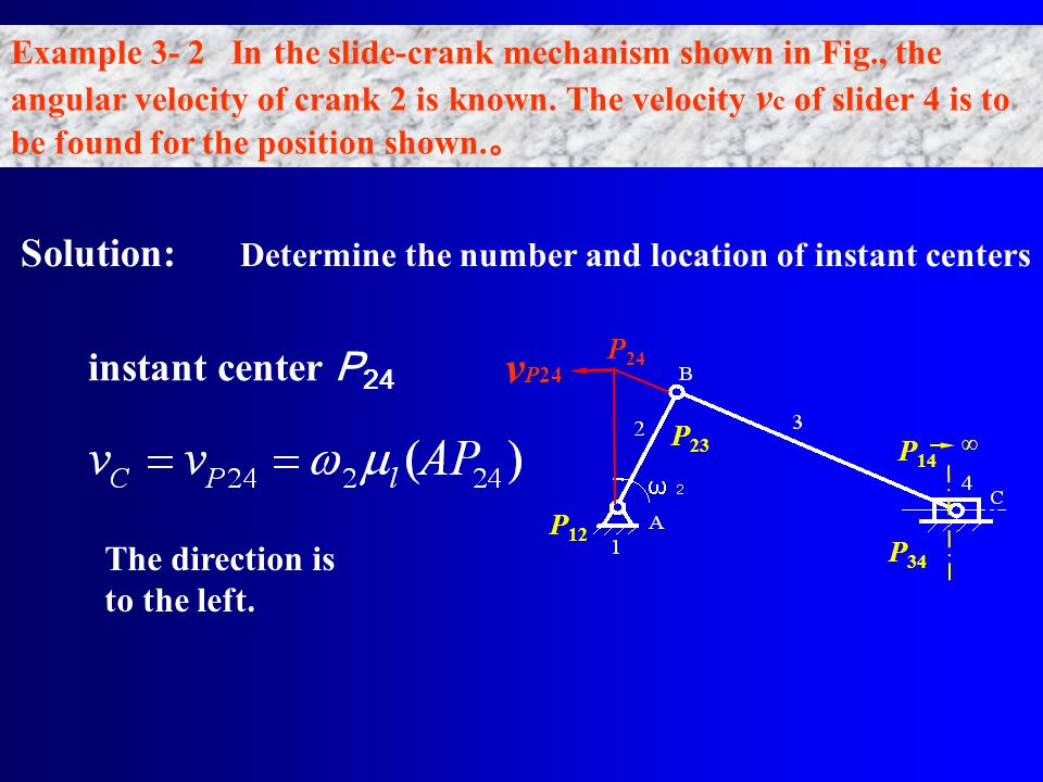 vP24 Solution: Determine the number and location of instant centers