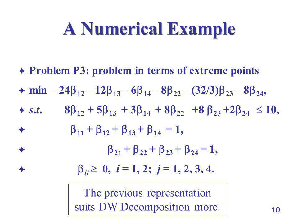 The previous representation suits DW Decomposition more.