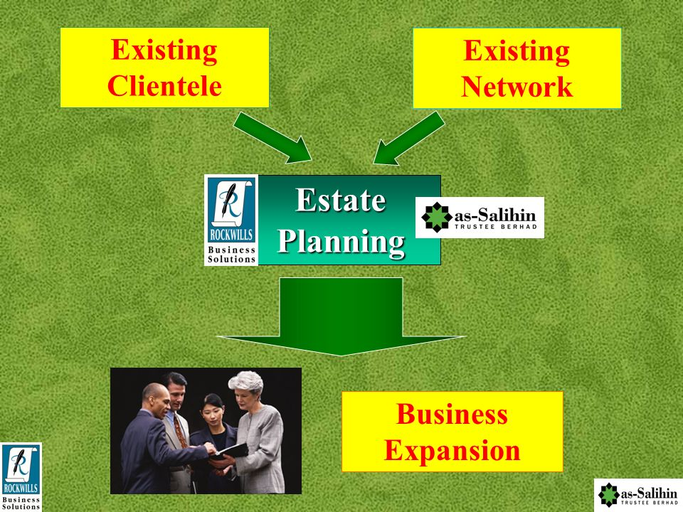 Existing Clientele Existing Network Estate Planning Business Expansion