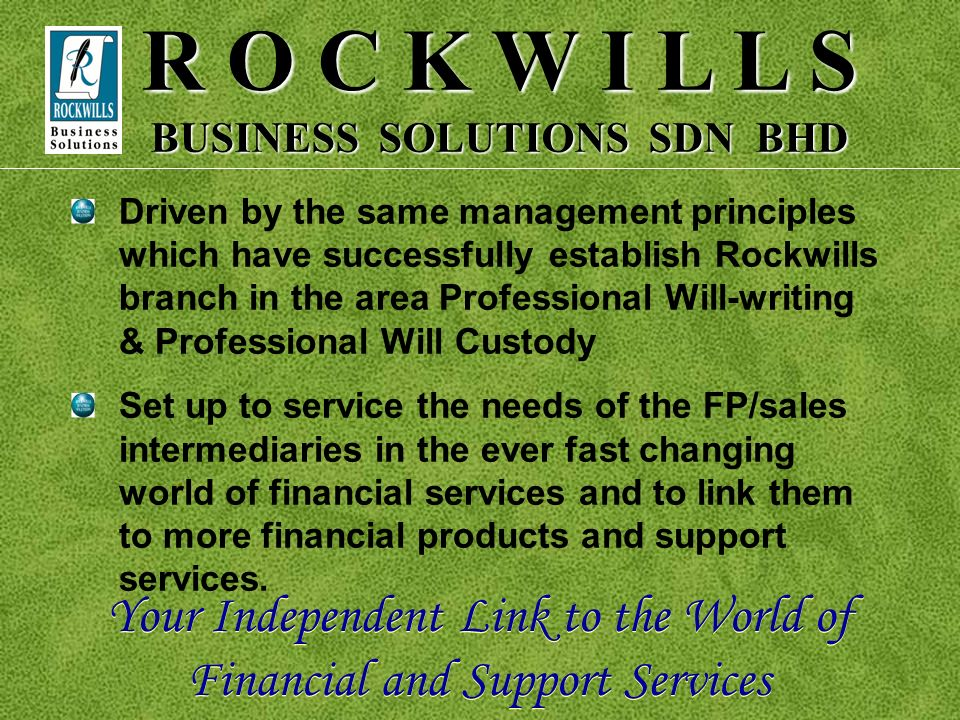 BUSINESS SOLUTIONS SDN BHD