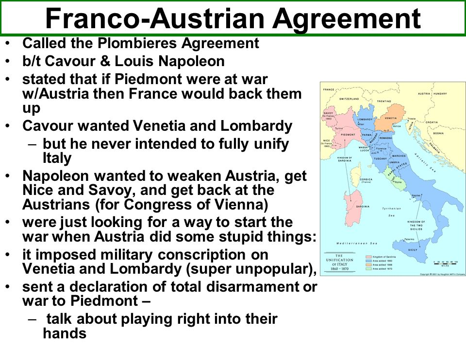 Franco-Austrian Agreement