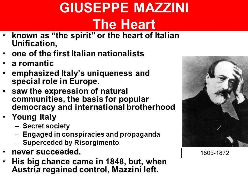 GIUSEPPE MAZZINI The Heart