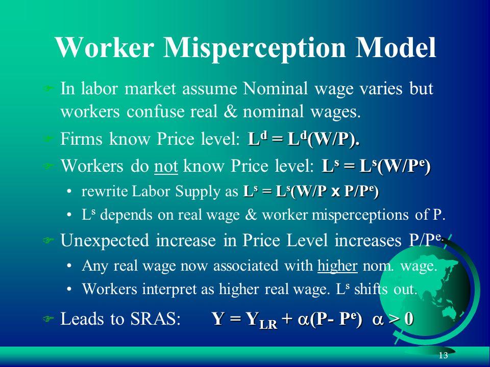 Worker Misperception Model