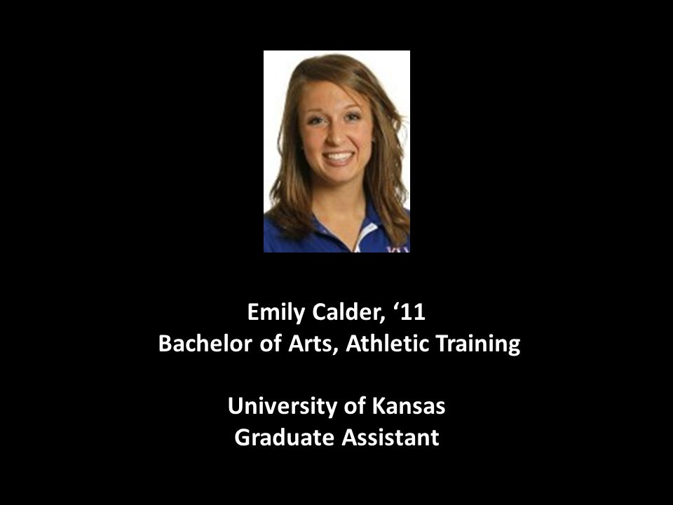 Bachelor of Arts, Athletic Training