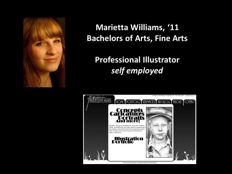 Bachelors of Arts, Fine Arts Professional Illustrator self employed