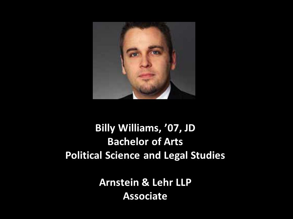 Bachelor of Arts Political Science and Legal Studies