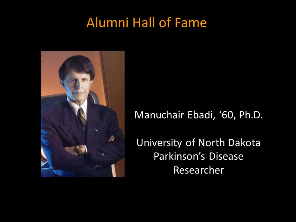 University of North Dakota Parkinson's Disease Researcher