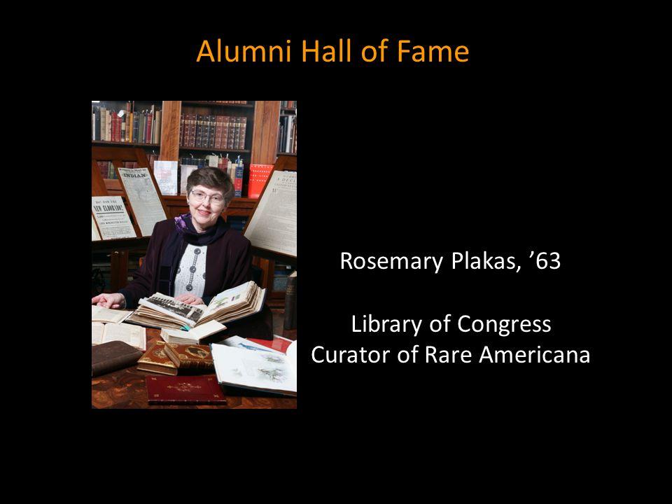 Library of Congress Curator of Rare Americana