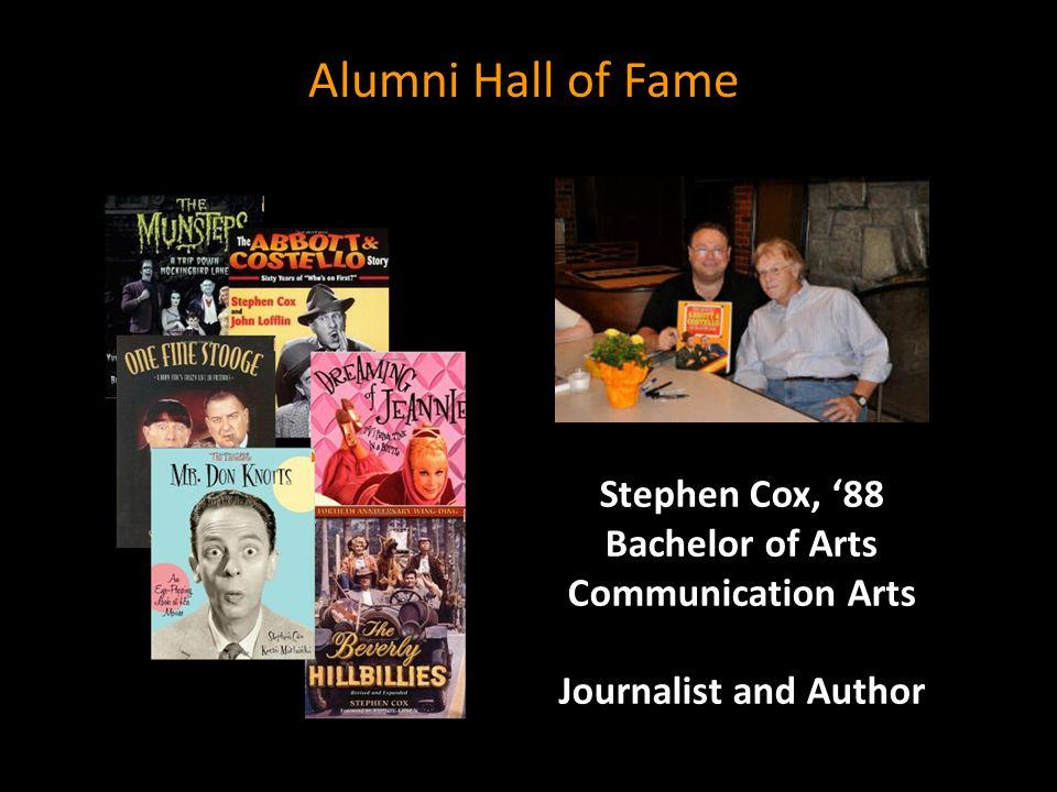 Stephen Cox, '88 Bachelor of Arts
