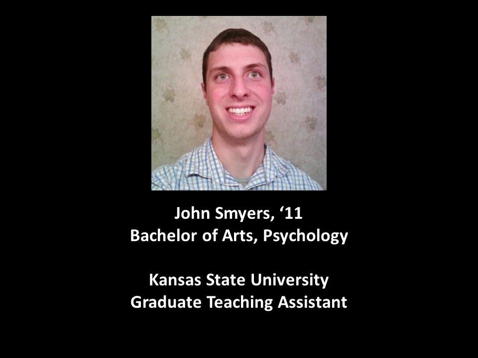 Bachelor of Arts, Psychology Kansas State University
