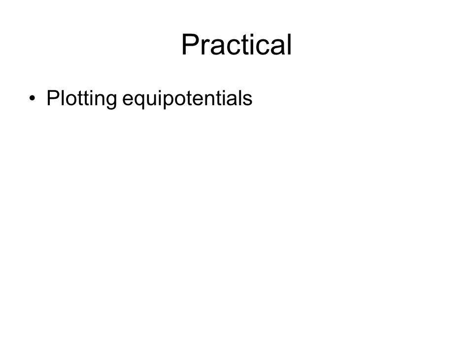 Practical Plotting equipotentials