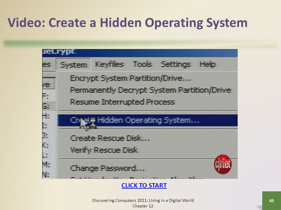 Video: Create a Hidden Operating System