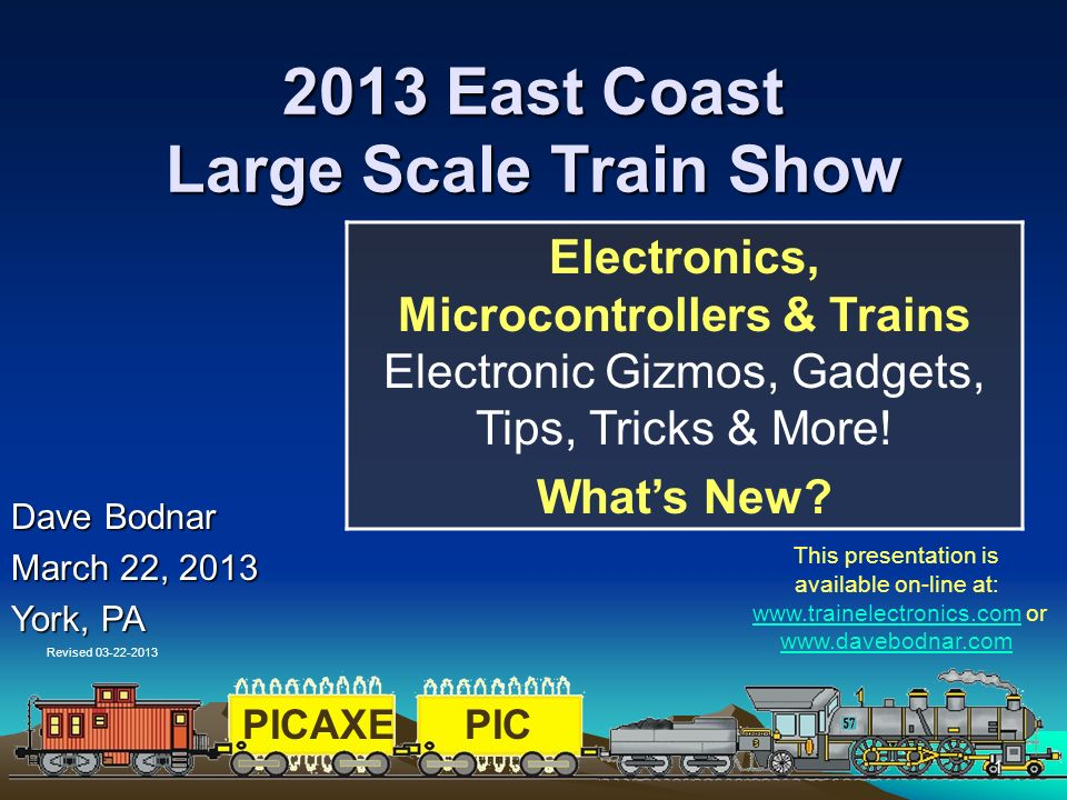 2013 East Coast Large Scale Train Show