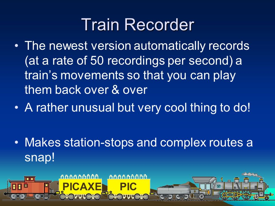 Train Recorder