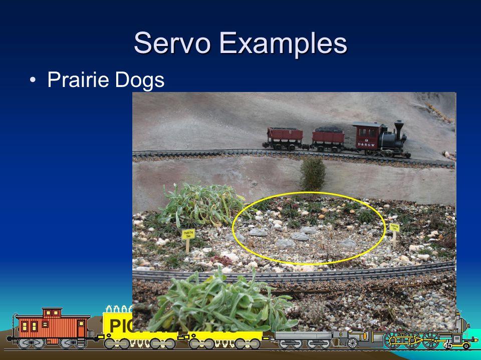 Servo Examples Prairie Dogs