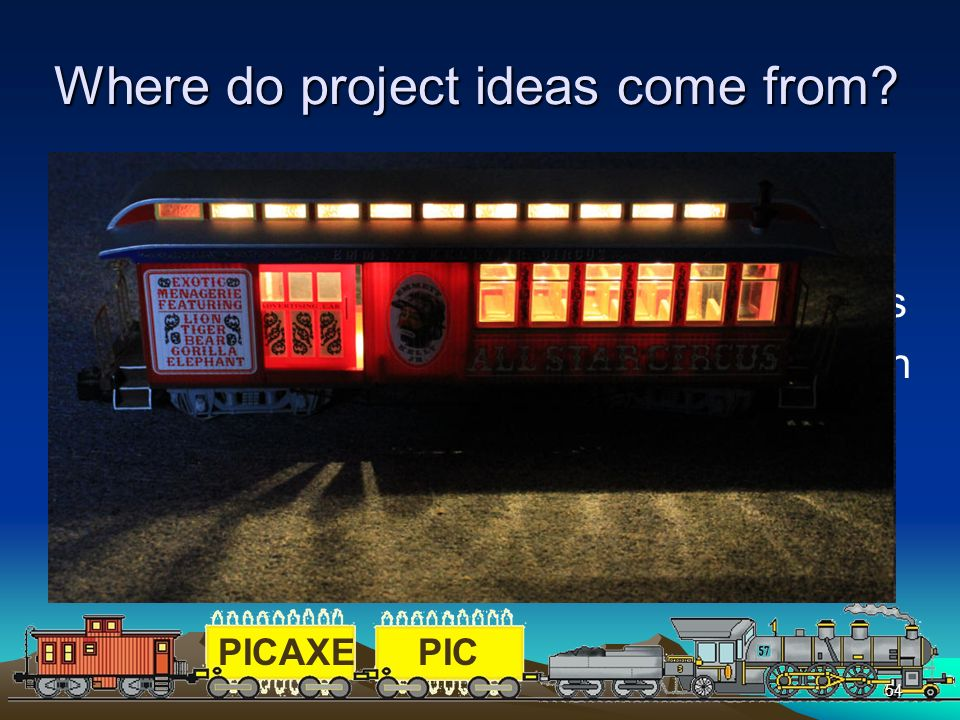 Where do project ideas come from