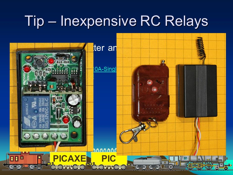 Tip – Inexpensive RC Relays