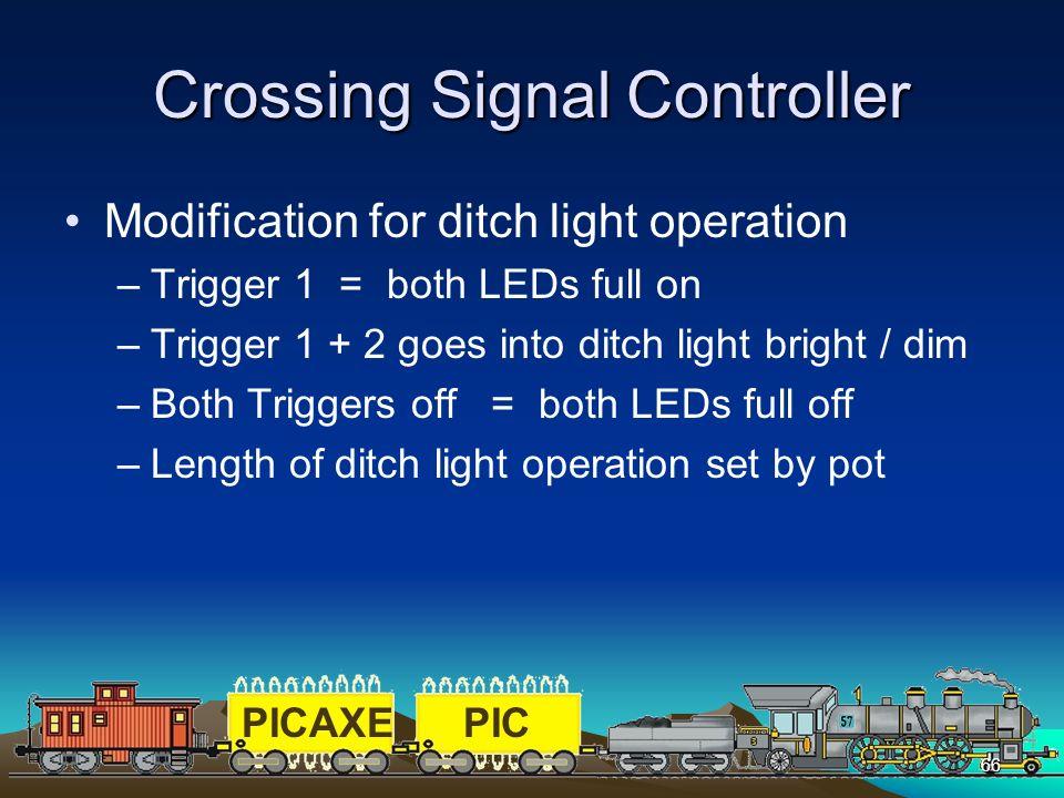 Crossing Signal Controller
