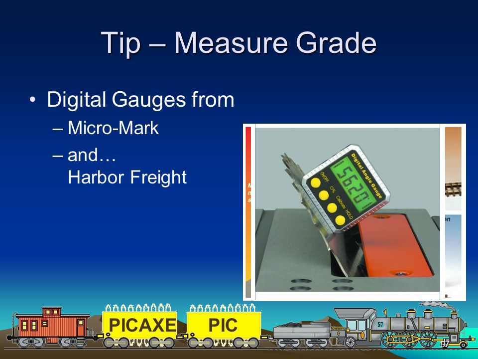 Tip – Measure Grade Digital Gauges from Micro-Mark and… Harbor Freight