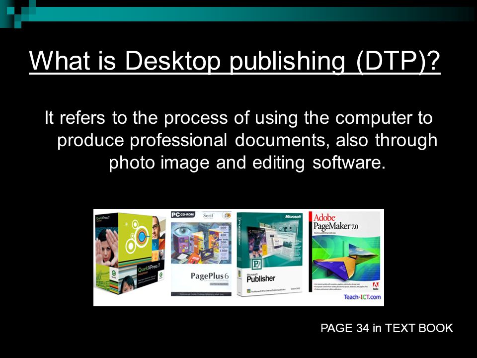 What is Desktop publishing (DTP)