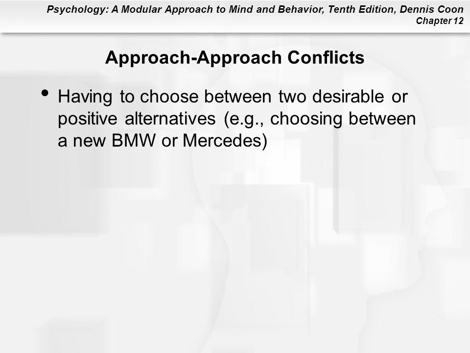 Approach-Approach Conflicts
