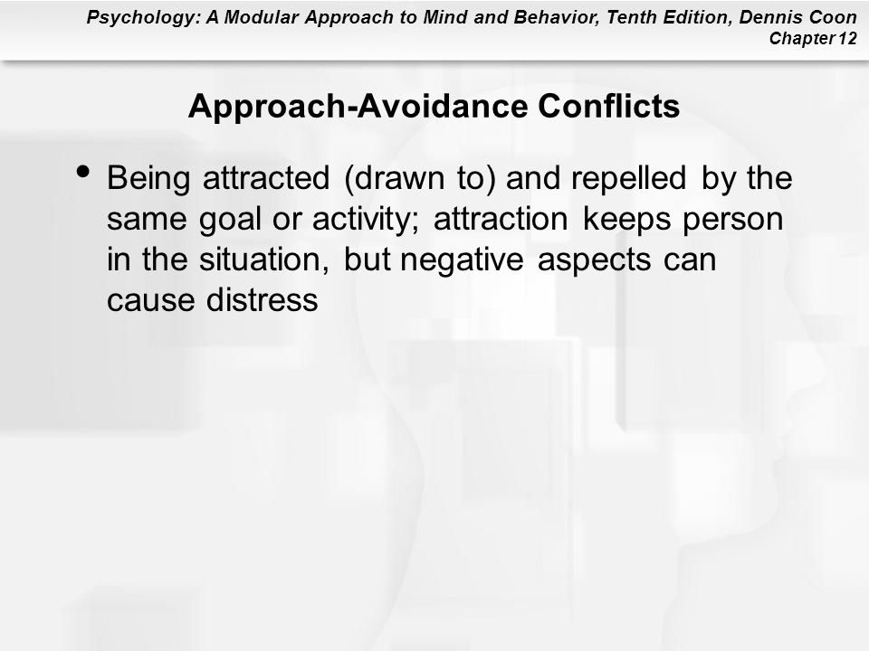 Approach-Avoidance Conflicts