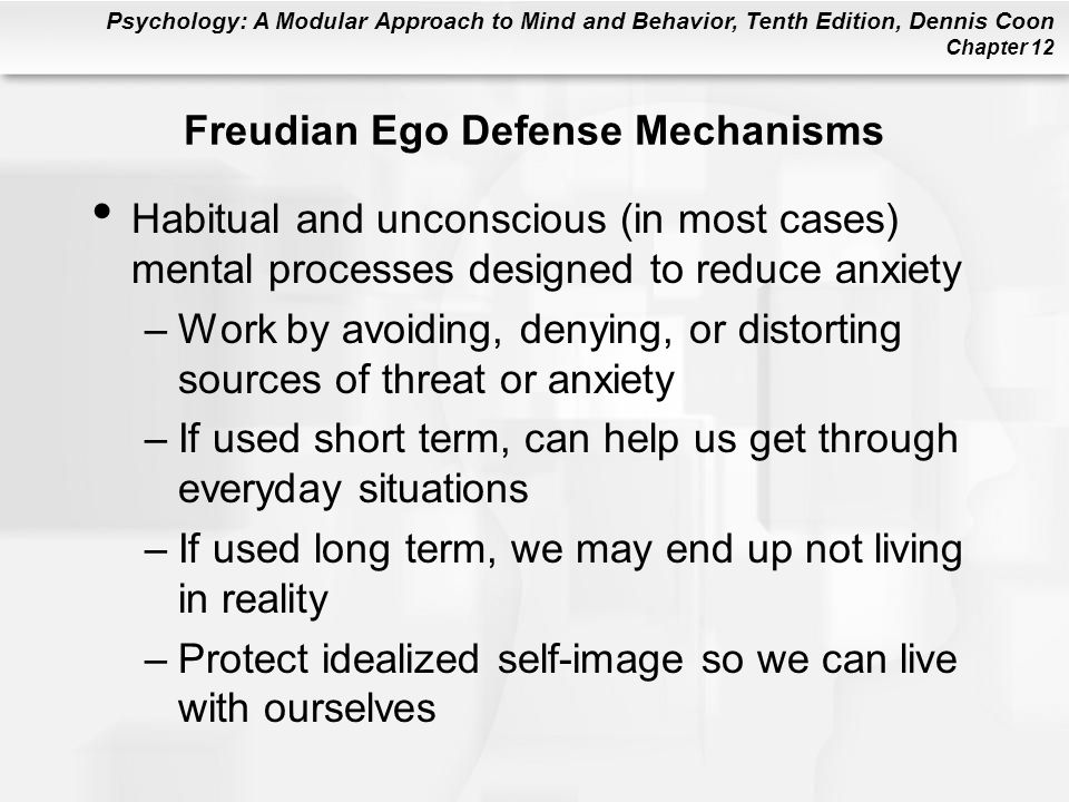 Freudian Ego Defense Mechanisms