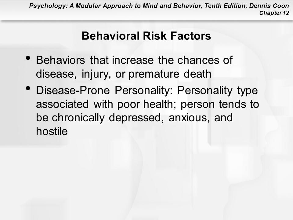 Behavioral Risk Factors