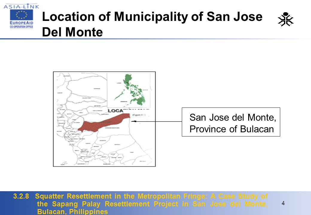 Location of Municipality of San Jose Del Monte