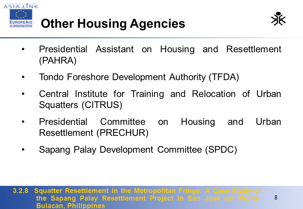 Other Housing Agencies