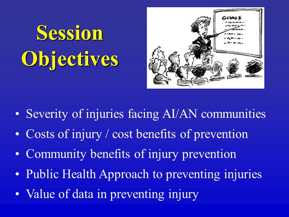Session Objectives Severity of injuries facing AI/AN communities