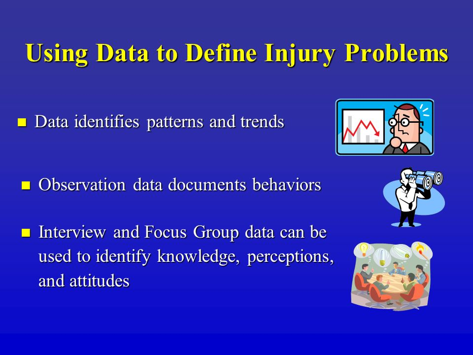 Using Data to Define Injury Problems