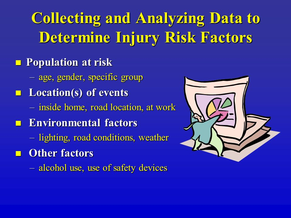 Collecting and Analyzing Data to Determine Injury Risk Factors