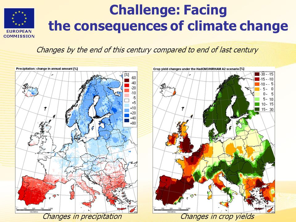 Challenge: Facing the consequences of climate change