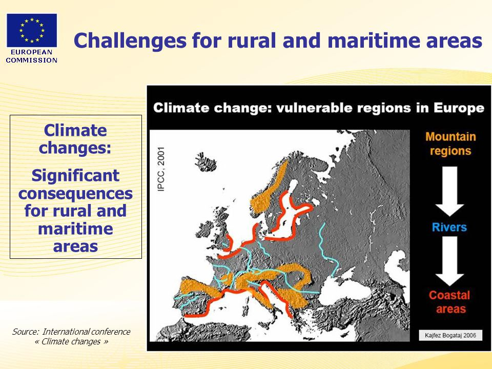 Challenges for rural and maritime areas