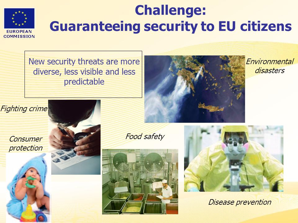 Challenge: Guaranteeing security to EU citizens