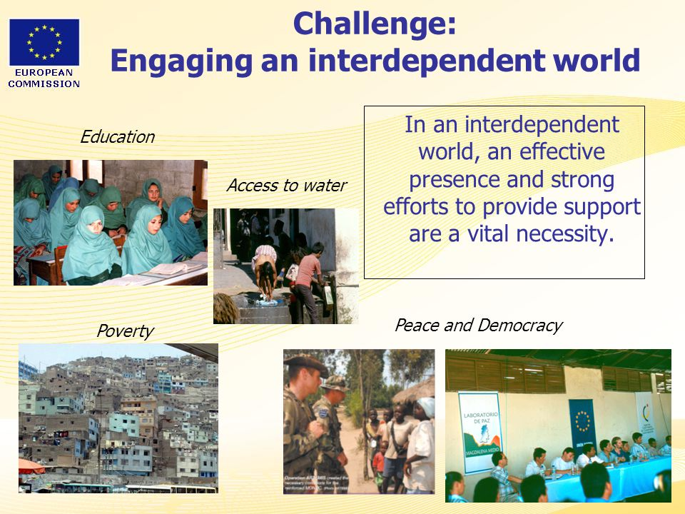 Challenge: Engaging an interdependent world