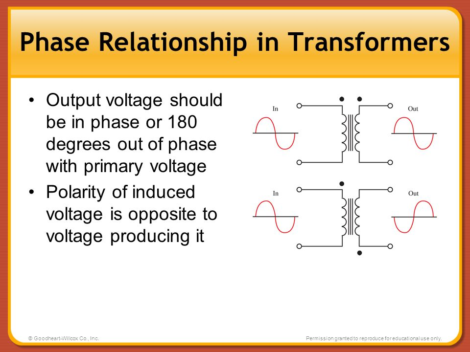 Phase Relationship in Transformers