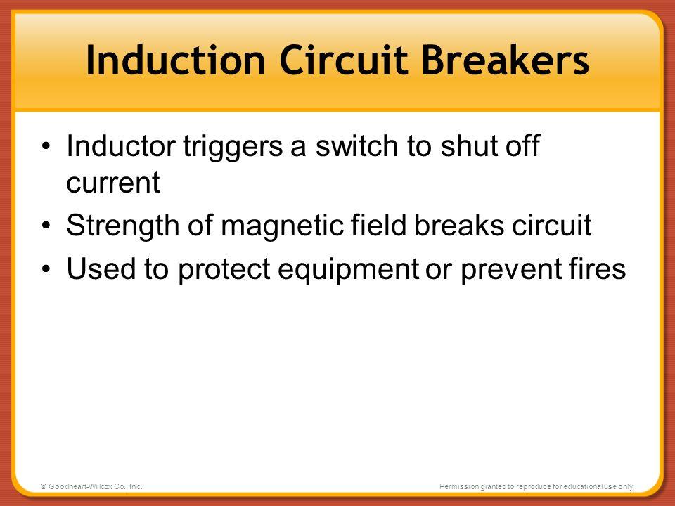 Induction Circuit Breakers