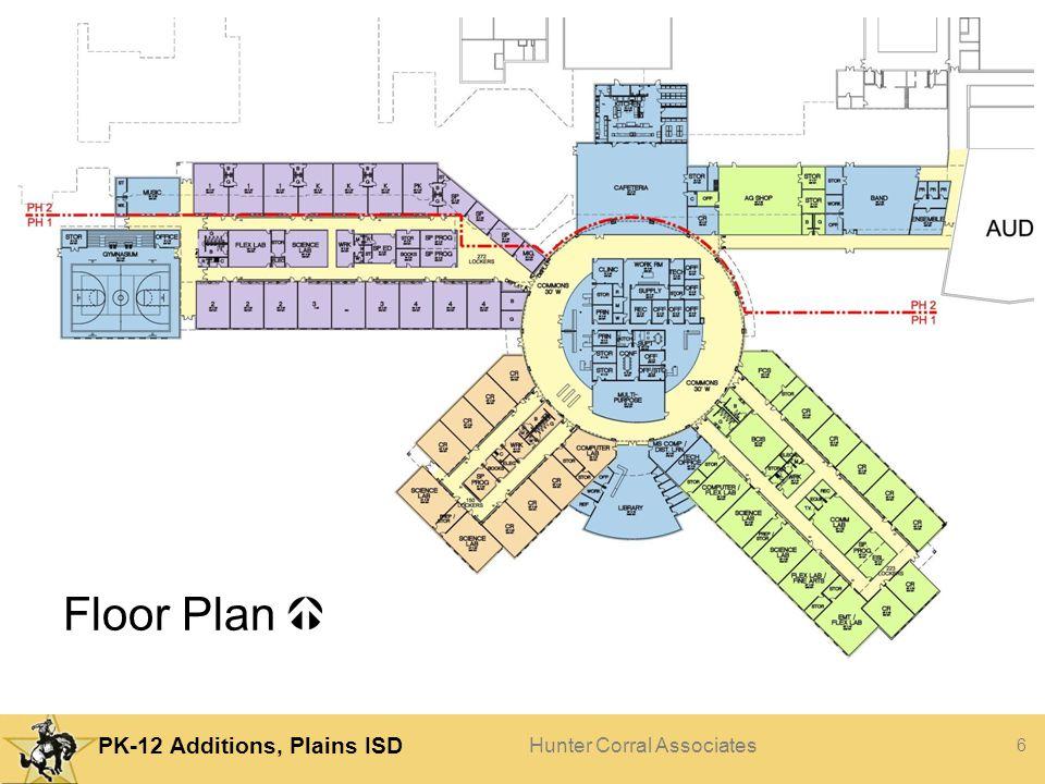 Floor Plan Phasing Cross corridors Wings getting close
