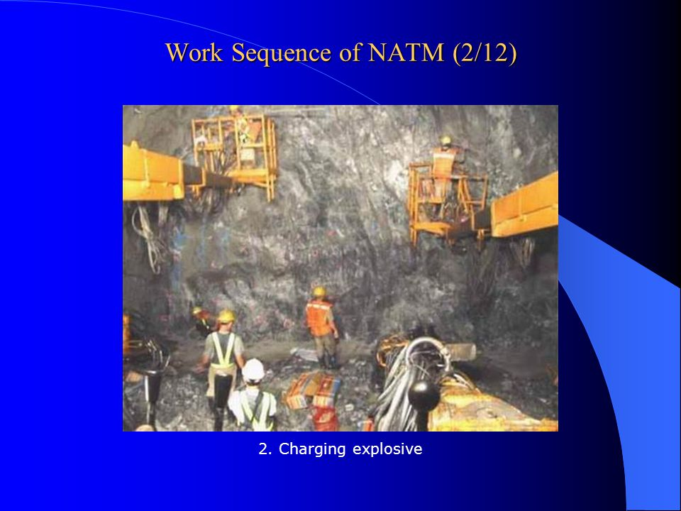 Work Sequence of NATM (2/12)
